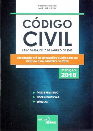 CÓDIGO CIVIL - 2018