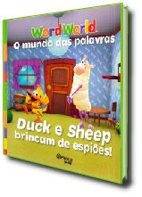 WORDWORLD - DUCK E SHEEP BRINCAM DE ESPIÕES