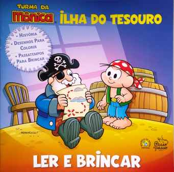 LER E BRINCAR - ILHA DO TESOURO