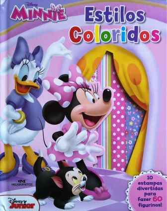 DISNEY MINNIE - ESTILOS COLORIDOS